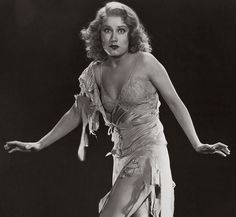 "Fay Wray, 1933 (King Kong). Hollywood's 1st ""Scream Queen"". The scenes between her and Kong were amazing, Check out the Un-Cut Theatrical Version of this Film to see Pre-Code Hollywood in all it's Glory and Ms. Wray without her top, courtesy of a furry finger."