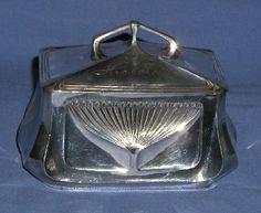 Sugar box by Orivit.  Ca. 1906.
