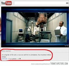 Big fan of 50 Cent…