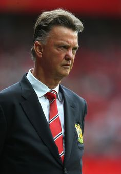 Luis Van Gaal - Manchester United v Swansea City, 16th August 2014 #mufc