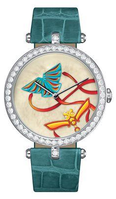 Lady Arpels Cerfs-Volant Carmin http://www.orologi.com/cataloghi-orologi/van-cleef-arpels-cadrans-extraordinaires-lady-arpels-cerfs-volant-carmin-nd