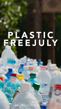 Plastic Free July provides simple solutions on how to reduce the use of plastic and promotes behavioural changes to live a plastic-free lifestyle.