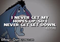 - Eeyore, Winnie the Pooh