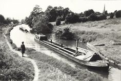BW200-1-40-143-7 Banstead & Bellerophon Steam Boats, Old Photography, Canal Boat, Narrowboat, British Isles, Long Distance, Birmingham, Transportation, England
