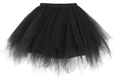 Special Offer: $17.99 amazon.com These fun tutus are great for dressing up at costume parties, school events, plays, holiday pageants, runs, Halloween parties, and more! The perfect finishing touch to any ensemble, they're sure to make your costume stand out in the crowd. Our tutus are...