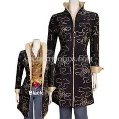 Quality Thai Silk Middle Length Coat,Woman Jackets & Coats,Chinese Clothing for sale