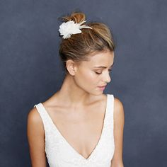 #feather #blossom #comb
