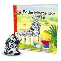 Fisher-Price Zoo Talkers - Eddie Meets the Zebras