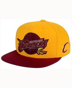adidas Cleveland Cavaliers 2Tonez Snapback Cap Men - Sports Fan Shop By  Lids - Macy s cda5315f57a4