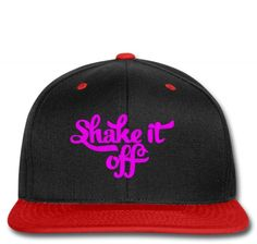 SHAKE IT OFF embroidery Snapback