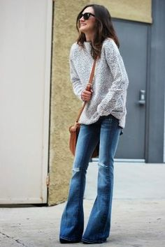 Cozy, cute, and casual. Need this outfit!