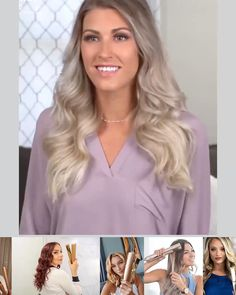 Erschaffe in wenigen Minuten einen beliebigen Stil The TWISTLINE wand is a revolutionary hair device that creates EVERY curl from waves to corkscrews and curls to straight hair. Ombré Hair Gris, Hair Colorful, Costume Noir, Rides Front, About Hair, Diy For Teens, Curling, Balayage Hair, Hairstyle Tutorials