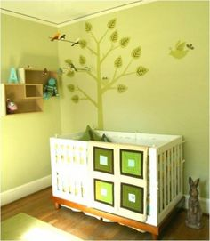 26 Baby boys bedroom design ideas with modern and best theme: natural green baby boy bedroom