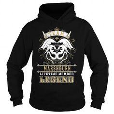 Cool MARSHBURN, MARSHBURNBIRTHDAY, MARSHBURNYEAR, MARSHBURNHOODIE, MARSHBURNNAME, MARSHBURNHOODIES - TSHIRT FOR YOU T-Shirts