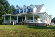 Comfortable Southern Country Cottage House With Wrap Around Porch By  Arkansas House Designer. Idea