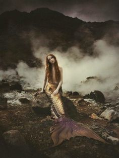 Iceland mermaid by Emma McEvoy Photography (with tail from Finfolk Productions)!