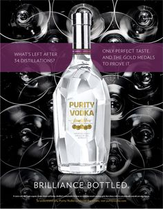 Purity Vodka by Katie Jansen, via Behance