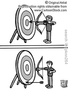 Haha, sometimes this is what I feel like....archery cartoons, archery cartoon, archery picture, archery pictures, archery image, archery images, archery illustration, archery illustrations