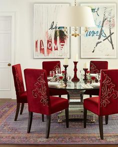 6 red dining room ideas red room