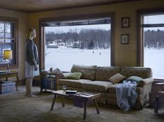 """Cathedral of the Pines"" - Gregory Crewdson"
