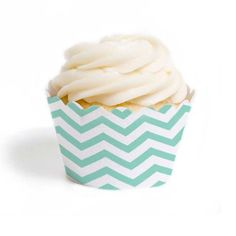 Chevron Cupcake Wrappers