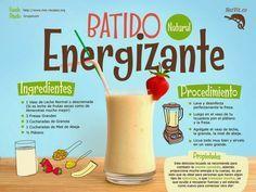Verde y Natural: Batido natural energizante