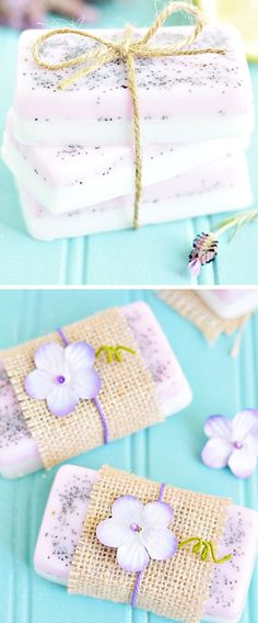 Lavender Lemon Soap | Click Pic for 18 DIY Mothers Day Gift Ideas for Kids to Make | Last Minute Mothers Day Gifts from Daughter