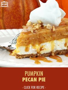 Carla Hall's favorite part of the Thanksgiving menu is the pie crust. But she also combined the best of two holiday favorites, Pumpkin Pie and Pecan Pie, into one delicious dessert. Try her Pumpkin Pecan Pie Recipe this year and satisfy everyone!