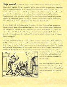 Book of Shadows Page Hedgewitchs Hedgecraft Hedge Witch picclick.com
