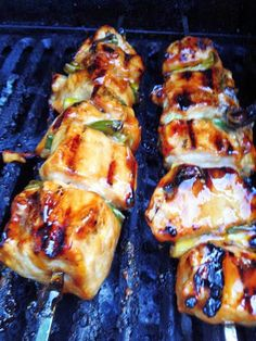 GRILLED JAPANESE CHICKEN - 4 lg chicken breasts 1/2 c packed brown sugar 1/2 c water 1/2 c soy sauce 1/2 c cooking sherr...