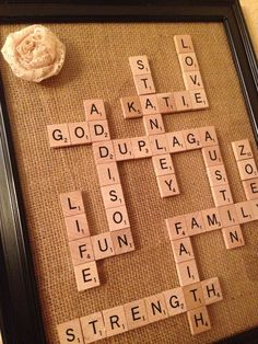 scrabble letters make a great mother 39 s day gift you can also do this as a crossword if your mom. Black Bedroom Furniture Sets. Home Design Ideas