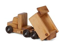 American Made Small Wooden Toy Dump Truck American Made Small Wooden Toy Dump Truck Let the good times roll with this old-fashioned toy truck handcrafted by the Amish. The post American Made Small Wooden Toy Dump Truck appeared first on Wood Ideas. Woodworking For Kids, Woodworking Toys, Woodworking Projects Diy, Wood Projects, Woodworking Equipment, Wooden Toy Trucks, Wooden Car, Handmade Wooden Toys, Dump Truck