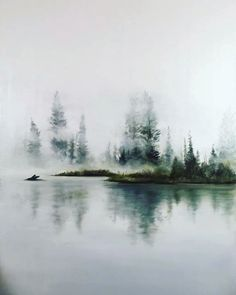 487 Likes, 31 Comments - Sarah Mckendry Watercolor Landscape Paintings, Watercolor Trees, Abstract Watercolor, Watercolour Painting, Painting & Drawing, Watercolors, Watercolor Portrait Tutorial, Gravure, Art Sketchbook