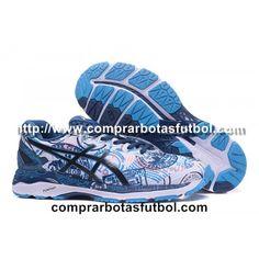 Comercio Zapatillas De Running Asics Gel Kayano 23 Hombre Azul Blanco Negro f52bb6e8042a4