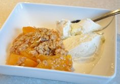 Just Peachy - Slow Cooker Peach Cobbler from Fix It and Forget It.