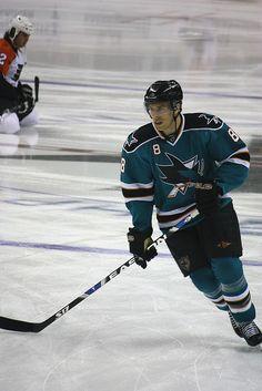 Joe Pavelski, former waterloo blackhawks, current San Jose Shark :)