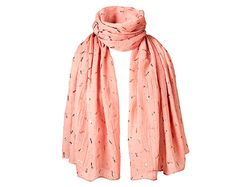 Shimmer Dragonflies Scarf - Pink
