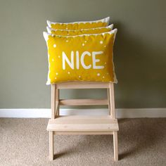 Nice Biscuit Printed Cushion by nikkimcwilliams on Etsy