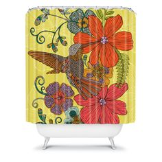 DENY Designs Home Accessories | Valentina Ramos Humming Heaven Shower Curtain