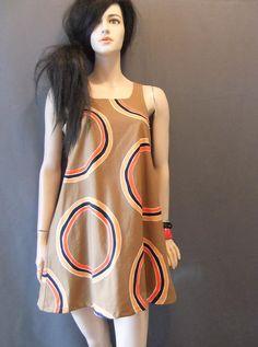 9e460880e6d 1960s mod swing dress aline mini dress by vintage2049 on Etsy
