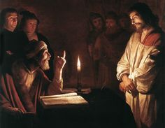 Gerrit van Honthorst, Christ Before the High Priest