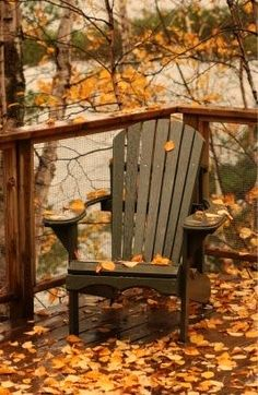 Autumn Deck Chair...