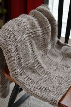 Great Job, I am hoping to get past the scarf stage and be able to knit a blanket lol
