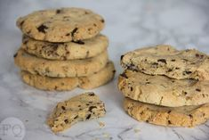chocolate chip cookies amandelmeel