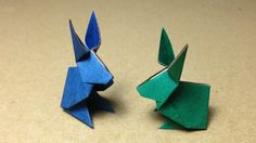 Image result for origami rabbit