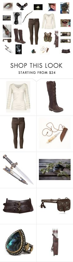 """""""Untitled #90"""" by shaina-elise-hamby ❤ liked on Polyvore featuring Fat Face, Clarks, Savannah, Chanel, KAOS, Forever 21, Sonia Rykiel, Armenta and INC International Concepts"""