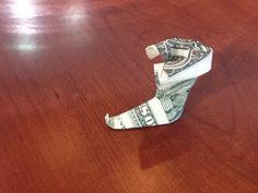 Money Boots  |  Make-Origami.com