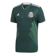 adidas Mexico World Cup 2018 Soccer Jersey (Home 17/18): https://www.soccerevolution.com/store/products/ADI_41064_A.php