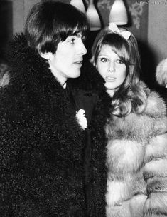 ★ SCAN ~ George and Pattie 1966