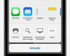 Rechercher du texte sur une page web - Conseils et astuces pour iOS9 sur iPhone - Assistance Apple